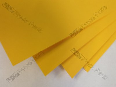 GTO46 Orange 0.25mm Packing Sheets