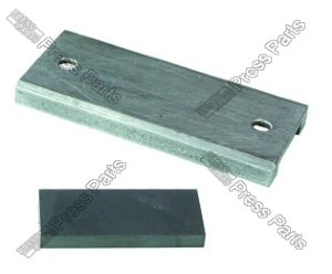 Magnet tile for lay slot plate (glues in)