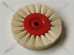 White Brush wheel