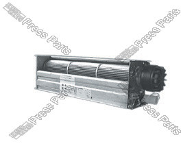 Motor for electrical cabinet cooling fan