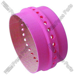 Slowdown band pink 38mm wide