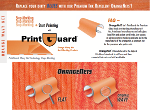 PrintGuard Anti-Marking Nets