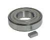 Coater clutch bearing