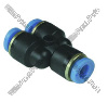 Y connector 4mm