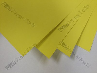 CD74 Yellow 0.30mm Packing Sheets