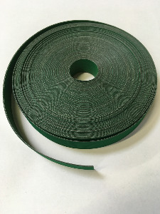 Feed tape 20mm wide rubberized nylon