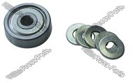 Perf wheel roller bearing