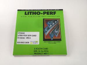 Litho-Perf 8tpi 6m card