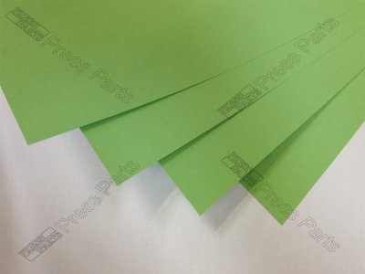 GTO52 Green 0.20mm Packing Sheets
