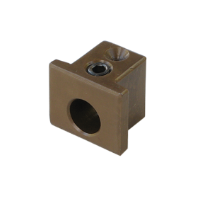 Support block for Varn oscillating roller