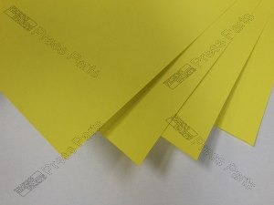 PM/QM46 Yellow 0.30mm Packing Sheets
